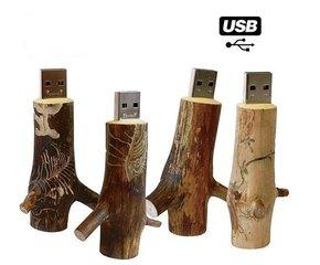 Houten USB Stick