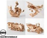 HoutenHouten 3D  puzzel Trein- bouwpakket 3D  puzzel - bouwpakket
