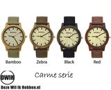 Houten horloge: Carme