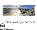 Houten zonnebril: Metis Cat Eye Black met gepolariseerde glazen_