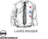 Locatie dasspeld
