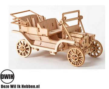Houten 3D  puzzel Auto - bouwpakket