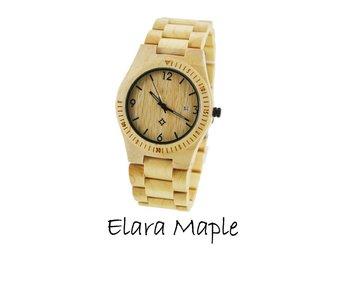 Houten horloge: Elara Maple