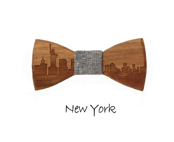 Houten strik: New York