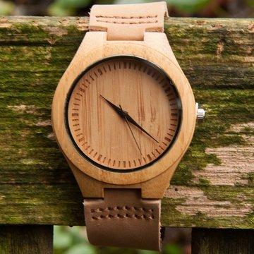 Houten horloge: WATZZ Big (WATZZ 05)