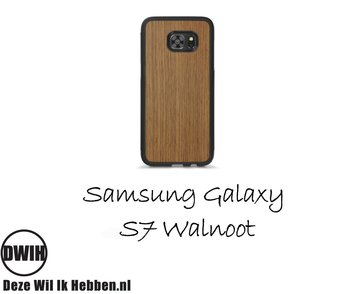 Samsung Galaxy S7 Walnoot Case