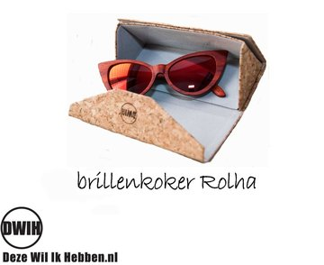 Brillenkoker van Kurk: Rolha Light
