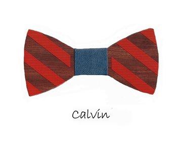 Houten strik: Calvin