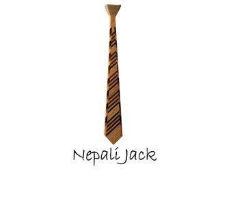 Houten stropdas: Nepali Jack