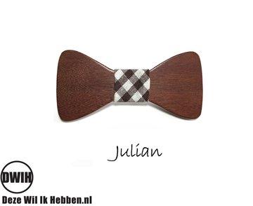 Houten strik: Julian
