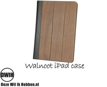 iPad Cover Walnoot