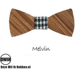 Houten strik: Melvin