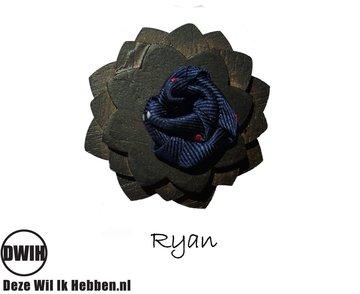 Houten corsage Ryan