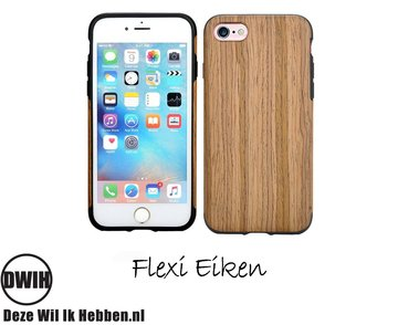 iPhone 7, 8 en SE(2020) Case, Flexi Eiken