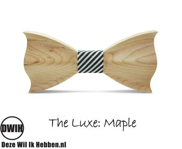 Houten vlinderdas  The luxe Maple
