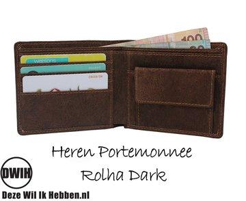 Portemonnee van Kurk: Heren Portemonnee Rolha Dark