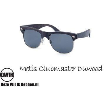 Houten zonnebril: Metis Clubmaster Duwood