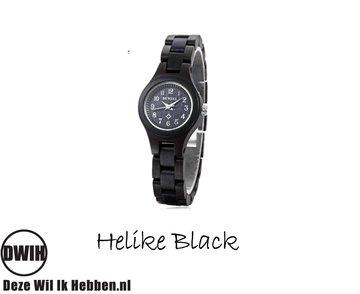 Houten horloge: Helike Black