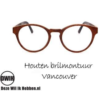 Houten brilmontuur - Vancouver