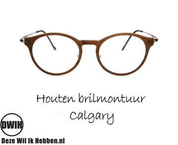 Houten brilmontuur - Calgary