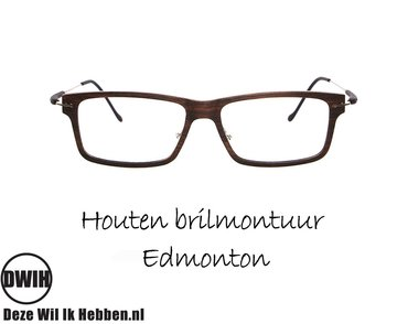 Houten brilmontuur - Edmonton