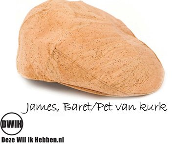 James, Baret / Pet van kurk