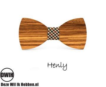 Houten strik: Henly