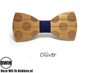 Houten strik: Oliver