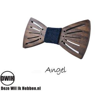 Houten strik: Angel