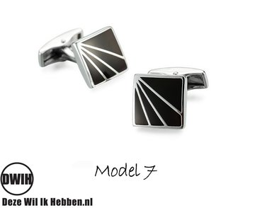 Houten manchetknopen Model 7