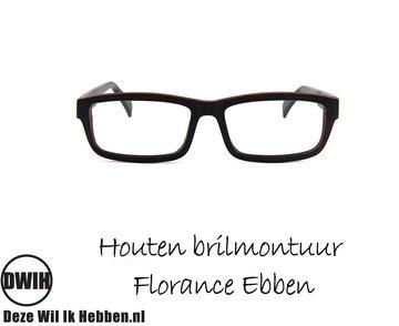 Houten brilmontuur - Florance Ebben