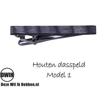 Houten Dasspeld model 1