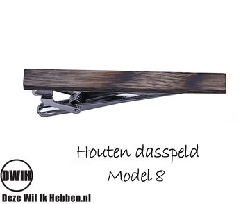 Houten Dasspeld model 8