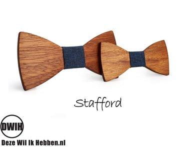 Houten strik Vader & Zoon: Stafford