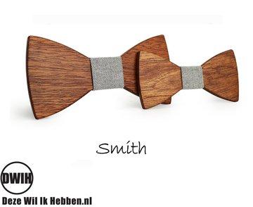 Houten strik Vader & Zoon: Smith