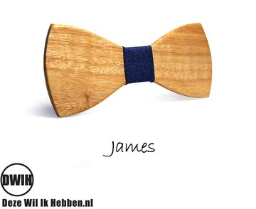 Houten strik: James