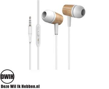 Houten In-Ear oordopjes