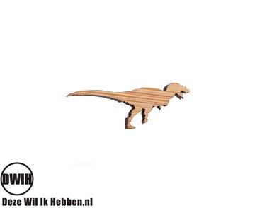 LaserWood Pin / Broche T-Rex