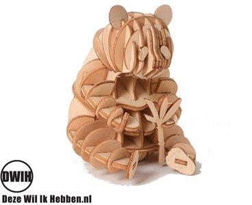 Houten 3D puzzel Panda