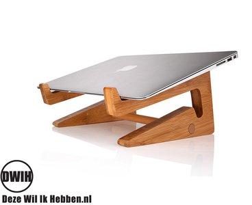 Bamboe Laptophouder / laptopstandaard / toetsenbordhouder
