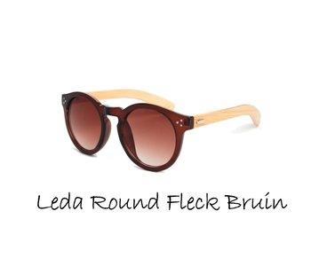 Leda Round Fleck Bruin