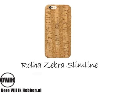 iPhone 6/6S Rolha Zebra slimline