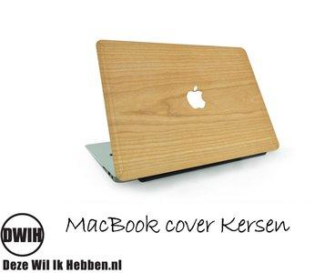 """Houten MacBook 12"""" Cover Kersen"""