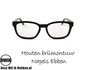 DWIH - Houten brilmontuur - Napels - Ebben