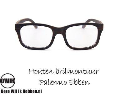 Houten brilmontuur - Palermo Ebben