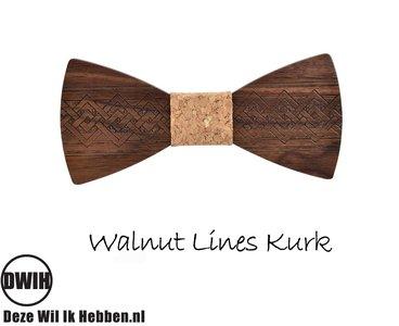 Walnut lines kurk