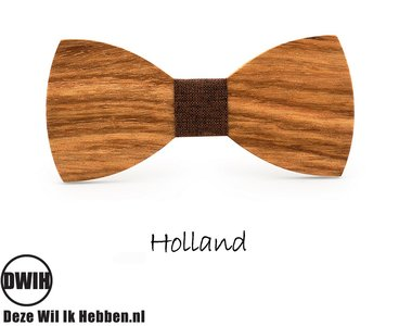 Houten strik: Holland