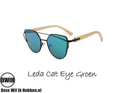 Leda Cat Eye Groen