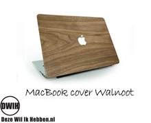 Houten MacBook Cover Walnoot