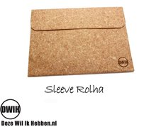 "Laptop Sleeve van kurk Rolha 13"" voor bv de Apple MacBook Pro Retina 13,3''"